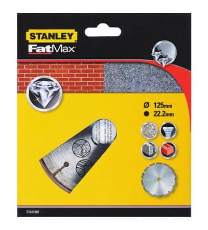 Stanley Diamantový kotúč segmentový