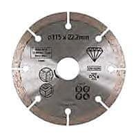 Stanley Diamantový kotouč segmentový na kámen 115x22,2mm