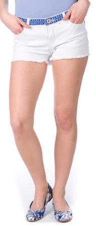 Brave Soul ženske kratke hlače Tanya XS bela
