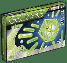 Geomag Klocki magnetyczne Glow 64