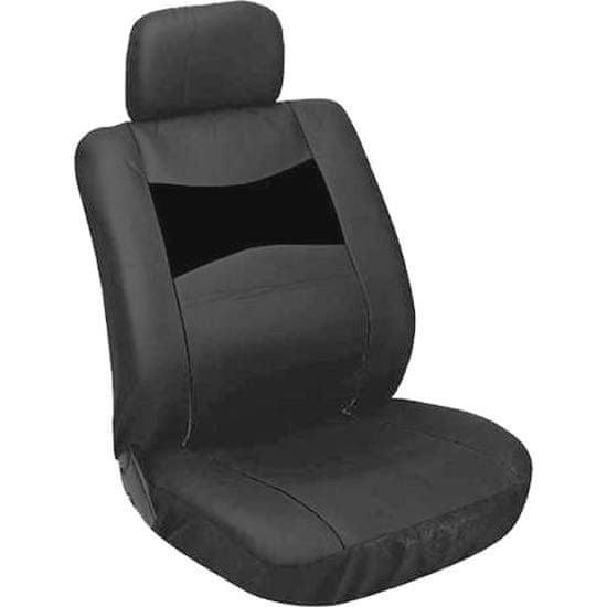 CarPoint Poťahy sedadiel - imitácia kože čierne