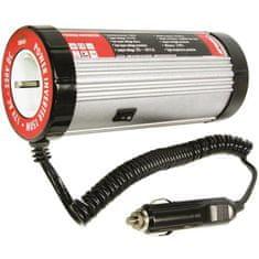 CarPoint konwerter napięcia 12V-230V, 50Hz, 150W