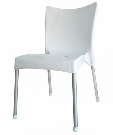 MEGA PLAST MP464 VITA Műanyag szék, fehér