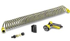 Kärcher wąż spiralny 10m - zestaw