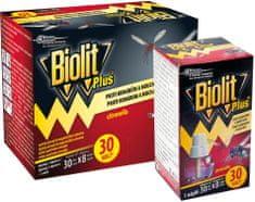 Biolit Plus elektrický proti komárům, mouchám s tekutou náplní 2x30 nocí