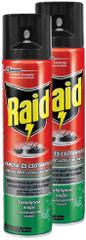 Raid spray - Przeciw owadom pełzającym, 2x 400 ml