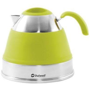Outwell zložljiv čajnik, zelen, 2,5 l