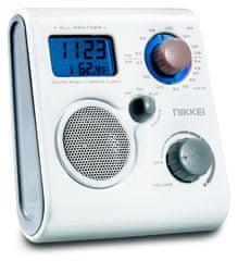 Nikkei  NWP10WE Hordozható cseppálló rádió