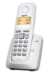 Gigaset telefon stacjonarny A120, biały