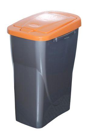 Mazzei Kôš na triedený odpad Ecobin 25 l, oranžová