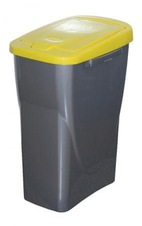 Mazzei Kôš na triedený odpad Ecobin 25 l, žltá