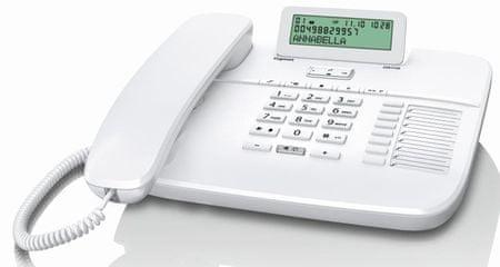 Gigaset DA710 Vezetékes telefon, Fehér
