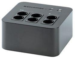 Socomec UPS NeTYS PL 600VA, USB, crni