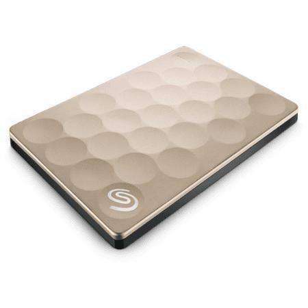 Seagate dysk zewnętrzny Backup Plus Ultra Slim Gold (STEH2000201)