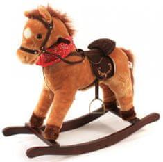 Bayer Chic Koń na biegunach z dźwiękiem, jasny brąz