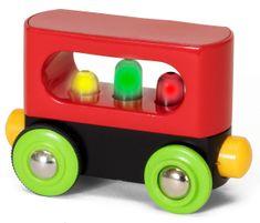 Brio moj prvi železniški komplet - vagon z lučmi