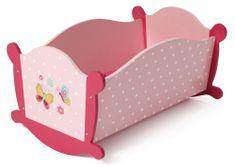 Bayer Chic Fabölcső játékbabának, rose
