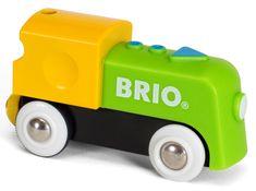 Brio moja prva električna lokomotiva
