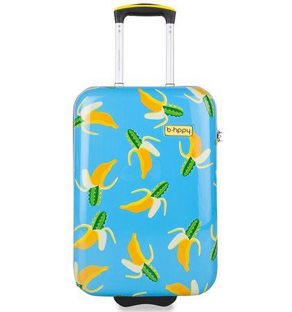 """REAbags potovalni kovček B.HPPY Bananauwch! """"S"""""""