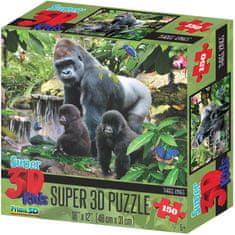 Lamps 3D Puzzle Opičia rodina 150 dielikov