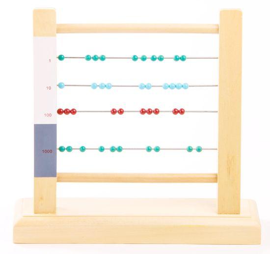 Montessori pomůcky Malé počítadlo