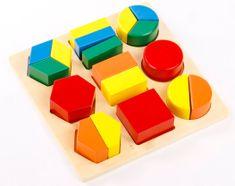 Montessori Geometriai tálca