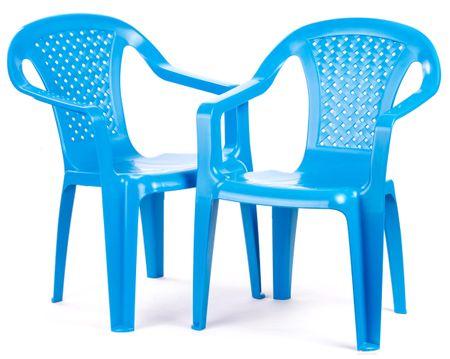 Grand Soleil Sada 2 židličky modrá