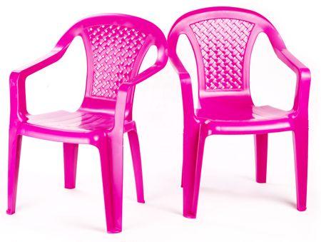 ebcc16e4f4f3e Grand Soleil Sada 2 stoličky, ružová - Parametre | MALL.SK