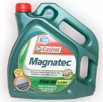 Castrol motorno olje Magnatec A3/B4 15W-40, 4 l