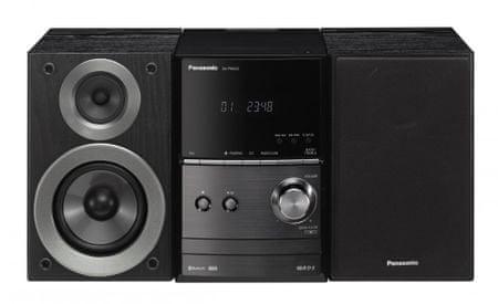 Panasonic glazbena linija SC-PM600EG-K, crna