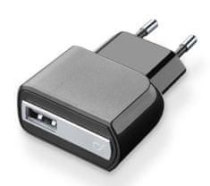 CellularLine kućni punjač USB, crni
