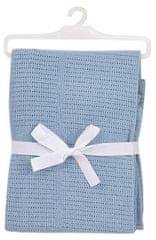 BabyDan Horgolt pamut takaró, 75x100 cm