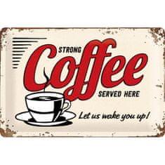Postershop Plechová tabuľa Coffee