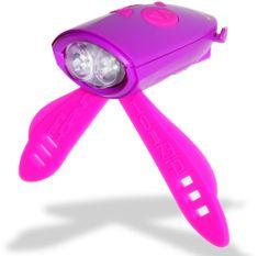 Hornit Zabawny klakson ze światłem Purple