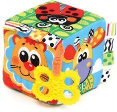 Playgro Hrkajúca kocka s hryzátkom