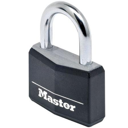 Master Lock Alumínium függőzár 50 mm, fekete