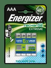 Energizer NiMH Extreme AAA 800 mAh, 4ks