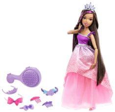 Mattel Vysoká princezná s dlhými vlasmi