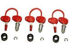 Givi Luggage ključavnica za kovčke E52, E41, E360, E460, E21 s ključi