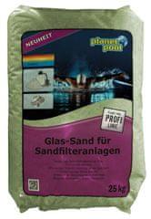 Planet Pool zelen pesek, steklen, 0,5-1 mm, 20 kg