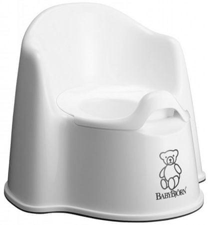 Babybjörn kahlica z naslonom, bela