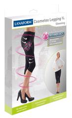 Lanaform hlače za hujšanje in oblikovanje postave z mikrokapsulam COSMETEX LEGGING 3/4