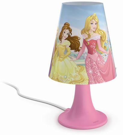 PHILIPS (71795/28/16) Hercegnők Gyerek asztali lámpa