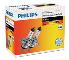 Philips Żarówki samochodowe Vision H4, 12 V, 60/55 W (2 szt.)