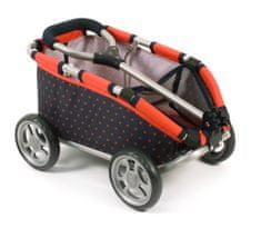 Bayer Chic Tahací vozík SKIPPER červená/černá - zánovní