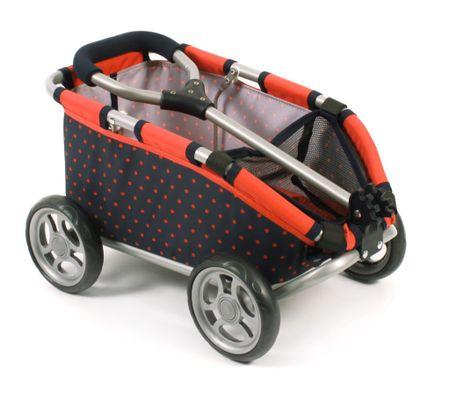Bayer Chic Tahací vozík SKIPPER červená/černá - rozbaleno