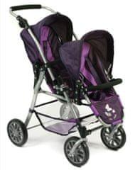 Bayer Chic Wózek dla lalek TANDEM TWINNY
