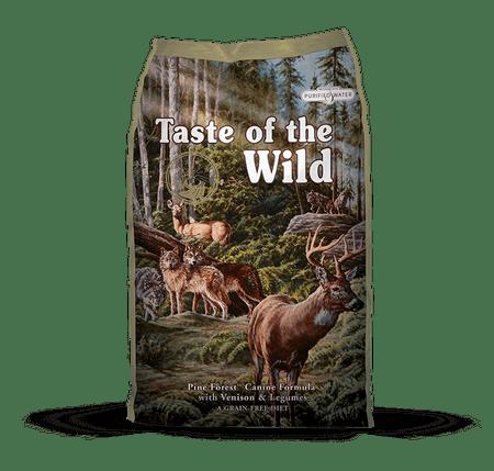 Taste of the Wild sucha karma dla psów Pine Forest 13 kg