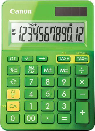 CANON LS-123K-MGR Számológép, Zöld (9490B002)