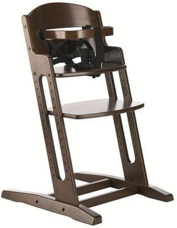 BabyDan Jídelní židlička Dan Chair New, Walnut